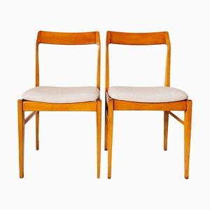 104 GFM Dining Chairs by Edmund Homa for Gościcińskie Fabryki Mebli, 1960s, Set of 2