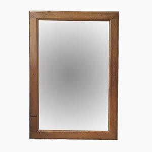 Oak-Framed Mirror, 1950s