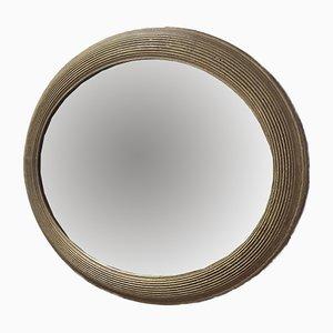 Ovaler antiker Spiegel