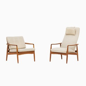 Armchairs by Søren Ladefoged for SL Møbler , 1960s, Set of 2