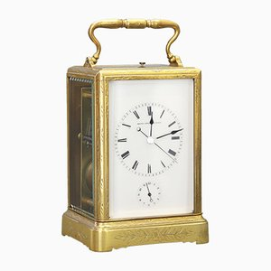 Antique Engraved Clock from Japy Freres, 1860s