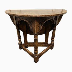 Tavolino da caffè in quercia, anni '20