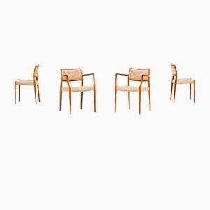 Chaises de Salle à Manger par Niels Otto Møller pour J.L. Møllers, 1960s, Set de 4