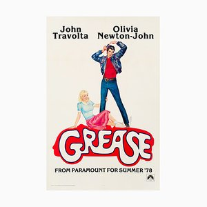 Grease Film Poster by Linda Fennimore, 1978