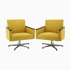 Swivel Chairs, 1960s, Set of 2