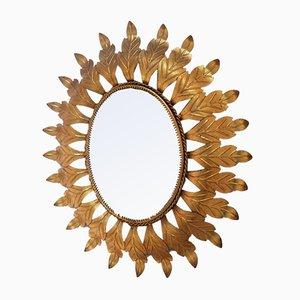 Spiegel mit Rahmen aus Schmiedeeisen, 1970er