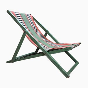 Folding Deck Chair, 1940s