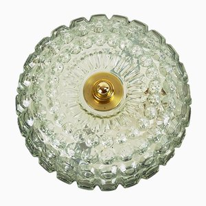 Bubble Glass Ceiling Lamp from Limburg, 1960s