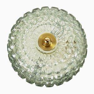 Deckenlampe aus Sideglas von Limburg, 1960er