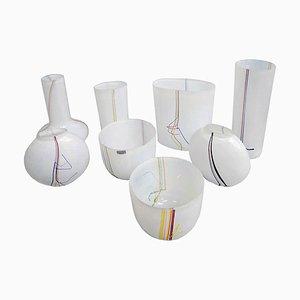 Vases by Bertil Vallien for Kosta Boda, 1970s, Set of 8