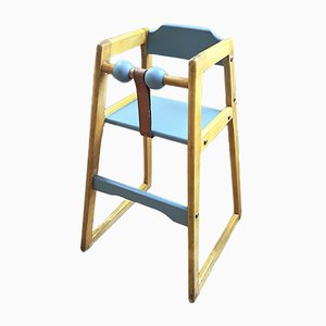 Swedish Robust Childrens High Chair by Stephan Gip, 1970s