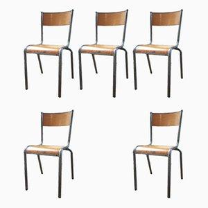 Esszimmerstühle, 1950er, 7er Set