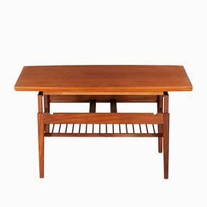 Teak Dining Table by Kai Kristiansen for Vildbjerg Møbelfabrik, 1960s