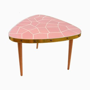 German Mosaic Side Table, 1960s