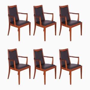 Chaises de Salle à Manger en Teck de G-Plan, 1960s, Set de 6