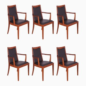 Teak Dining Chairs from G-Plan, 1960s, Set of 6