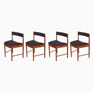 Teak 4103 Dining Chairs from McIntosh, 1960s, Set of 4