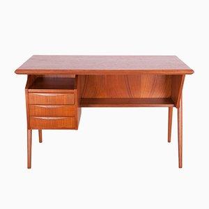 Dänischer Schreibtisch aus Teak von Gunnar Nielsen Tibergaard für Tibergaard, 1960er