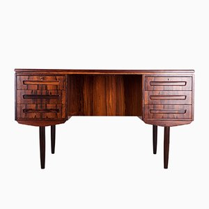 Rosewood Desk by J. Svenstrup for A.P Mobler, 1960s