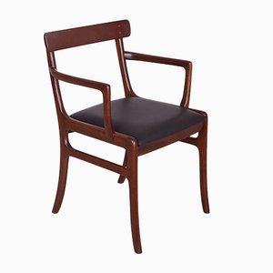 Chaise de Salon par Ole Wanscher pour Poul Jeppesens Møbelfabrik, Danemark, années 60