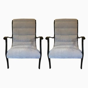 Armchairs by Longhi Ezio for Elam, 1950s, Set of 2