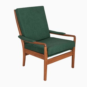 Grüner Armlehnstuhl von Samuel Parker für Parker Knoll, 1960er