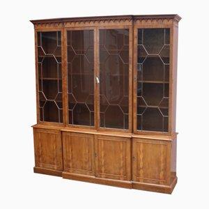 Glazed Walnut Cabinet, 1960s