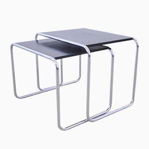 Side Tables by Marcel Breuer for Thonet, 1970s, Set of 2