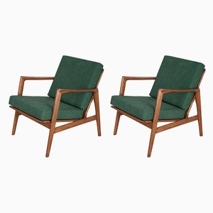 300-139 Armchairs from Swarzędzka Factory, 1960s, Set of 2