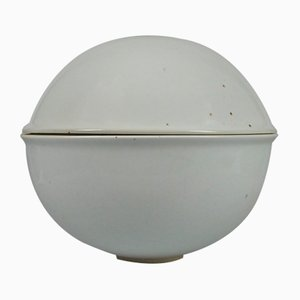 Danish Porcelain Lidded Pot by Johan van Loon for Royal Copenhagen, 1977