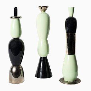 Sculptures Totem par Alessandro Mendini pour Studio Superego, 2008, Set de 3