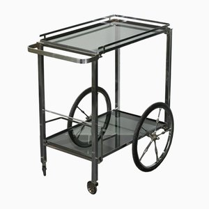 Chrome Metal & Steel Trolley, 1960s