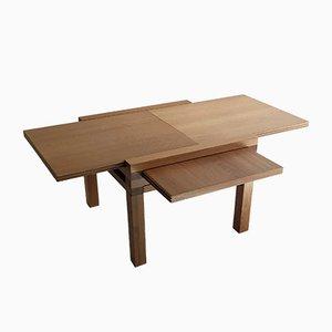 Table Basse en Chêne, années 80
