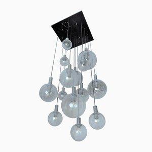 Niederländischer Vintage Kronleuchter mit Leuchtkugeln von Raak