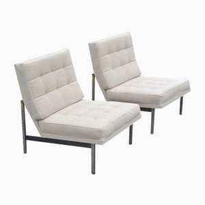 Armchairs by Florence Knoll Bassett for Knoll Inc. / Knoll International, 1950s, Set of 2