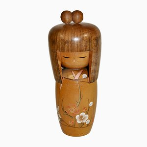 Japanese Kokeshi Sculpture by Kojo, 1970s