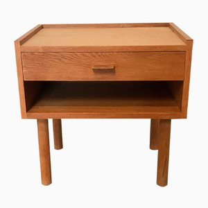 Model 430 Oak Nightstand by Hans J. Wegner for Ry Møbler, 1960s