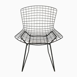 Black Dining Chair by Harry Bertoia for Knoll Inc. / Knoll International, 1970s