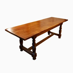Antique Oak Dining Table from Savoy