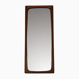 Specchio vintage in teak, Danimarca, anni '60