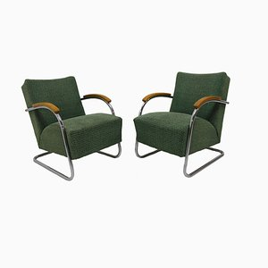 Armchairs from by Mücke & Melder Kovona, 1950s, Set of 2