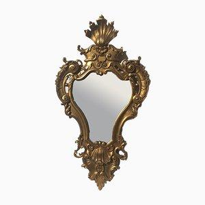 Specchio D. João V antico con cornice in ciliegio