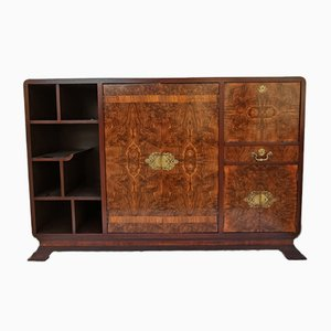 Walnut Cabinet, 1930s
