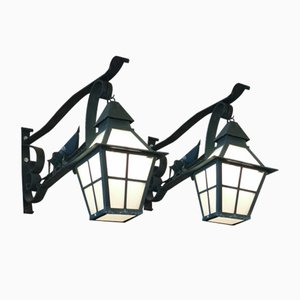 Vintage Wall Lamps, Set of 2