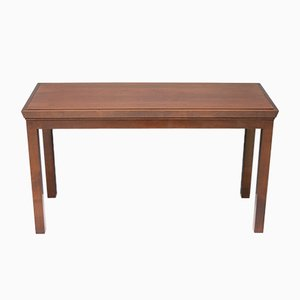 Mahogany Console Table, 1970s