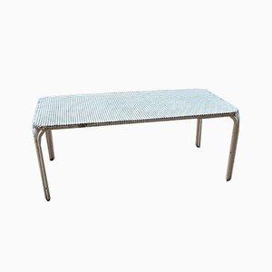 Table Basse en Métal Perforé par Mathieu Matégot, années 50