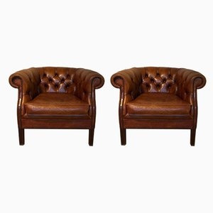 Club Chairs, 1970s, Set of 2