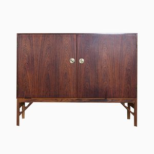Danish Rosewood Cabinet by Børge Mogensen for FDB, 1960s