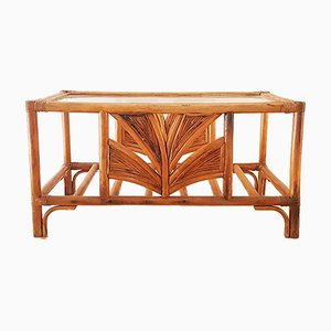 Bamboo Coffee Table, 1970s