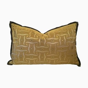 Silk Jacquard Pillow by Katrin Herden for Sohil Design